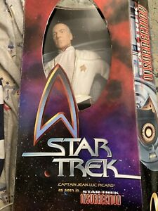 Star Trek Insurrection Captain Jean-Luc Picard 12 inch figure Playmates 1998 New