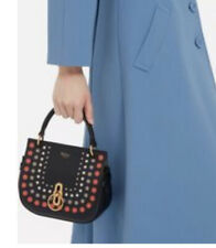 Mulberry Amberley Satchel Perforated Dot Small