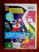2011 Wii Game Just Dance 3 Special Edition