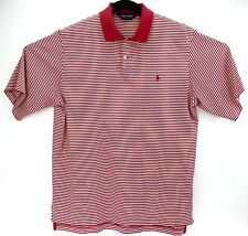 Polo Golf Ralph Lauren Red White Shirt Mens Size Large
