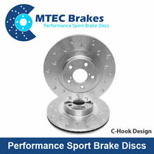 VW Polo 2.0 R WRC 220bhp 8/13- C-Hook Performance Rear Brake Discs 254mm