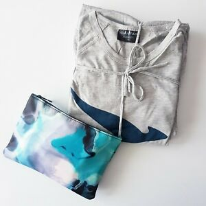 NEW Qantas Pyjamas L/XL and Amenity Kit Bag With ASPAR Products - Business Class
