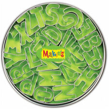 Makin's Clay Tin Alphabet Cutter Set, 26 piece