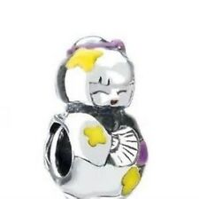 *NEW* Chamilia Sterling Charm Bead NA-46 Nzomi Collection Orig $40 *RETIRED*