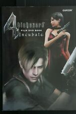"JAPAN Biohazard / Resident Evil 4 Film DVD Book ""Incubate"""