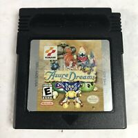 Authentic  Azure Dreams (Nintendo Game Boy Color, 1999) Game Cart Tested Rare