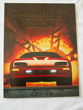 1996 Chevrolet Camaro SS SLP Dealer Brochure - NEW OEM