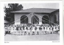 "~Post Card~""2nd Grade Dancers/May Day"" @ 14th St. School @ *Modesto, Ca. (#104)"