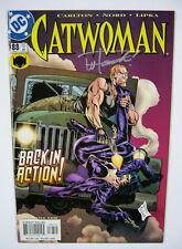 Catwoman #88 Signed by Wayne Faucher BATMAN DC COMICS 2001