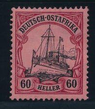 Ungebrauchte Briefmarken aus Deutsch-Ostafrika als Einzelmarke mit Falz