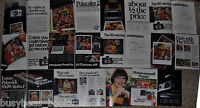 1975-77 Polaroid advertisement pages x13, POLAROID SX-70, Super Shooter, Pronto