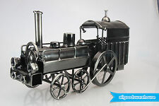 Scrap Metal Art Handmade Nuts & Bolts Vintage Steam Train Gift Model Collector