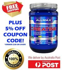 ALLMAX NUTRITION 400G CREATINE MICRONISED 100% PURE GERMAN GRADE POWDER CREAPURE