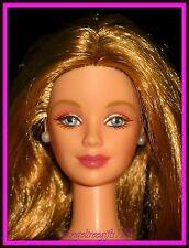 Nude millennium bride barbie mackie face sculpt long blonde hair blue eyes