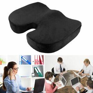 Office Chair Coccyx Cushion Orthopedic Car Seat Pillow Tailbone Memory Foam Pad