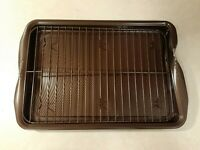 Circulon Nonstick Bakeware Set W/ Nonstick Cookie Sheet DAMAGE READ DESCRIPTION