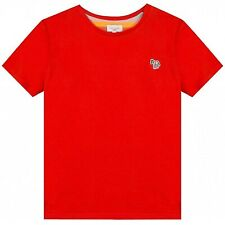 Paul Smith Junior Red Tete T-Shirt, Zebra. 8 Year. Brand New w/Labels. RRP £36