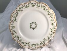 """Antique Haviland Limoges Holly Berry Ivy Christmas 9 3/4"""" Plate"""