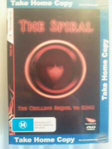 """THE SPIRAL- Japanese sequel to """"RING""""- Ex-Rental DVD- Very Good."""