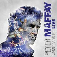 PETER MAFFAY - WENN DAS SO IST-LIVE 3 VINYL LP NEU