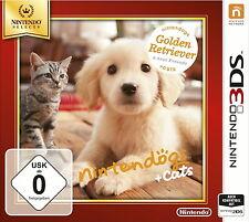 Nintendogs + Cats: Golden Retriever & neue Freunde (Nintendo 3DS, 2011, Keep Case)