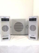 Altec Lansing Vintage 2.1 Speaker System ACS400 Speakers & ACS250 Subwoofer Test
