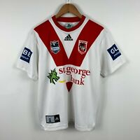 St George Illawarra NRL Jersey Adidas Mens Size Small Made In Australia