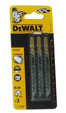 DEWALT Stichsägeblätter Dt2221 Entspricht Bosch T127df Alu 100 Mm