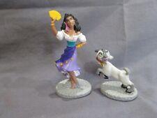 New Vintage Disney's The Hunchback of Notre Dame Pvc Figure Esmeralda Djali Goat