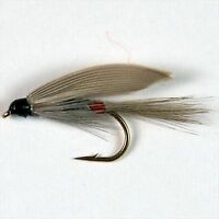 12 OLIVE CATS WHISKERS 4 pieces each 8,10,12 Fly fishing flies by Dragonflies