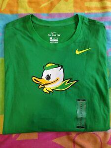 "NEW Nike Tee Oregon Ducks""PUDDLES"" Long Sleeve Dri-Fit Football Shirt Size 3XL"