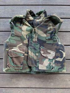 Woodland Flak Jacket Body Armor Fragmentation Vest X-LARGE