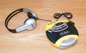 AudioPhase (DM9905) Portable CD Player / AM/FM Tuner w/ Koss Headphones **READ**