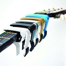 Acoustic and Electric Quick Change Guitar Capo - Sturdy Alluminium & Brand New