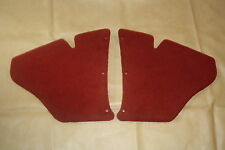 Holden EJ-EH kick panels L & Red plush carpet. NEW.