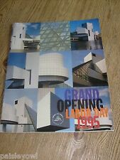 Grand Opening Rock & Roll Hall of Fame & Museum Program 1995 Cleveland Ohio