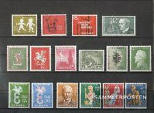 Saarland postfrisch 1958 kompletter Jahrgang in sauberer Erhaltung