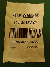 RULAND MANUFACTURING, FSMR25-10-10-SS, Coupling, 6 Beam Set Screw, 10mmx10mm!R3!