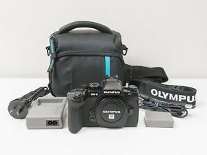 Olympus E-M1 em1 Camera Body Only with Bag ~Excellent Cond & Low Shutter Count