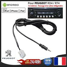 cavo per la MP3 AUX Jack 3.5mm Peugeot RD4 RT4 307 407 3008 RCZ 5008 308