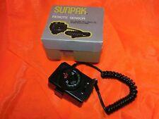 Sunpak Electronic Flash Remote Sensor mx-5 Minolta XD xd7 xg-e como nuevo!!!