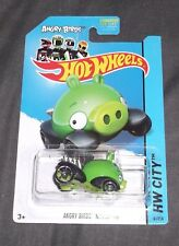Hot Wheels 2014 Hw City 81/250 Angry Birds Minion Pig