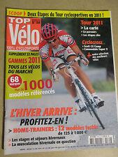 TOP VELO N°164: NOVEMBRE 2010: GAMMES 2011 - L'HIVER ARRIVE - SCOTT CX COMP