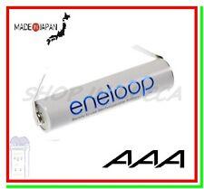 "Eneloop Pile Batterie Ricaricabili MINISTILO AAA 750/800mAh Lamelle Saldare ""U"""