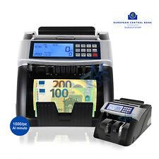 Macchina Conta Banconote Verifica soldi falsi Rilevatore Aggiornata 2019