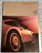 1993 PORSCHE 968 911 928 GTS SALES BROCHURE DEALER ADVERT ORIGINAL OEM RARE A+