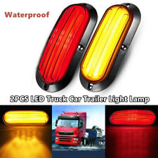 2X LED Car Turn Reverse Heavy Truck Guiding Tail Lamp Stop Rear Brake Light Lamp