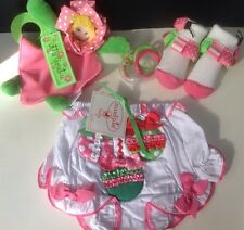 NEW TOY, BOOTIES & HOLIDAY DIAPER COVER Size 0-12 Months First Christmas MUD PIE