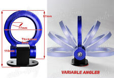 RACING STYLE JDM BLUE RING TRACK CAR SUV TRUCK RACING TOW HOOK LOOK DECORATION