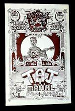 EGRESS -  TAJ MAHAL -  Concert Poster - Grant SHANKARAK ART